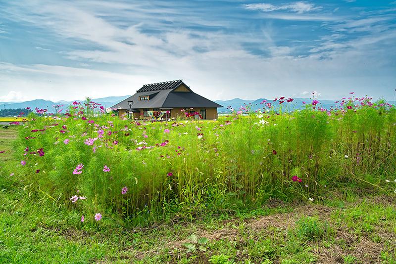 村 田舎 天気 館