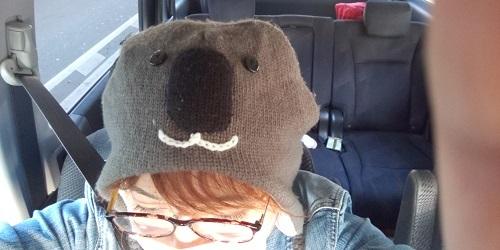 44歳コアラ帽子