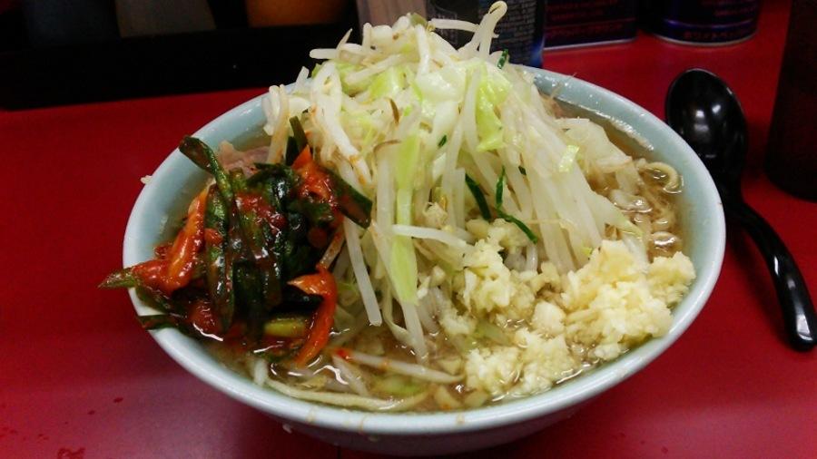 二郎 ブログ ラーメン 二郎トップクラスの美味さ、ラーメン二郎 目黒店の豚入りを食す!