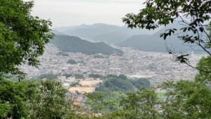茶臼山展望