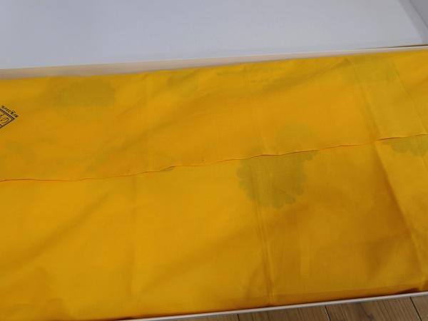 ウコン色のフロシキ