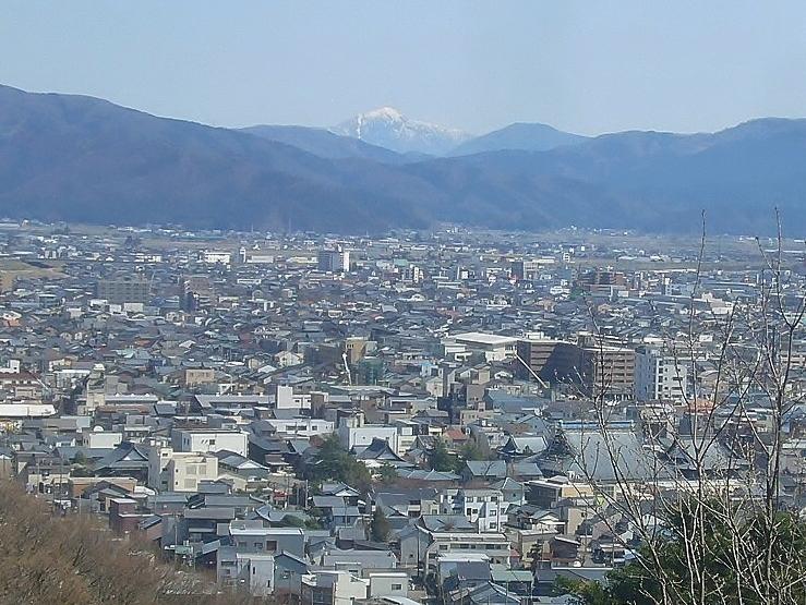 足羽山から荒島岳 R2.3.26