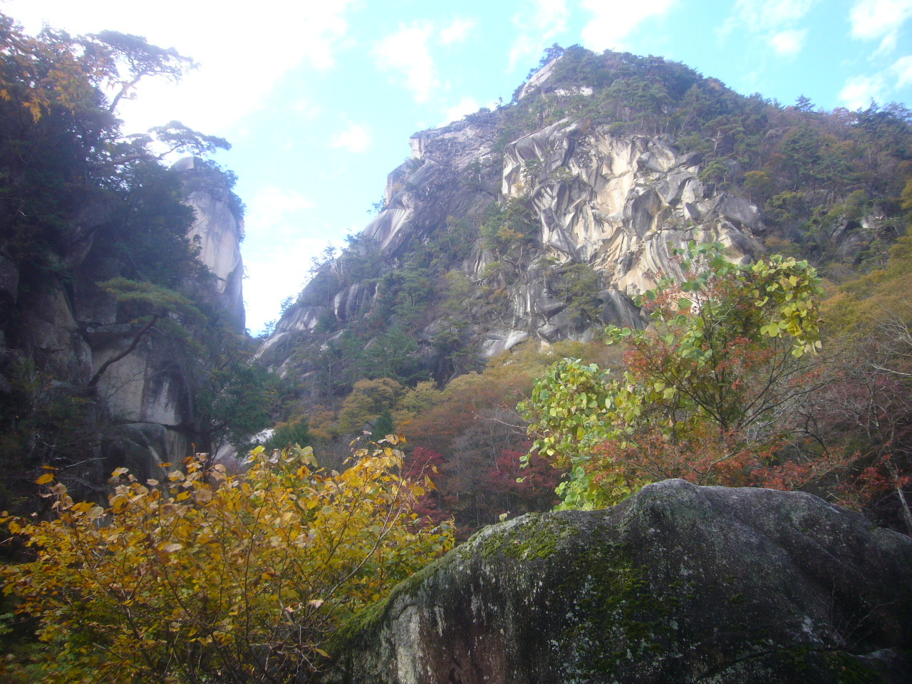 昇仙峡 天狗岩 R2.11.08