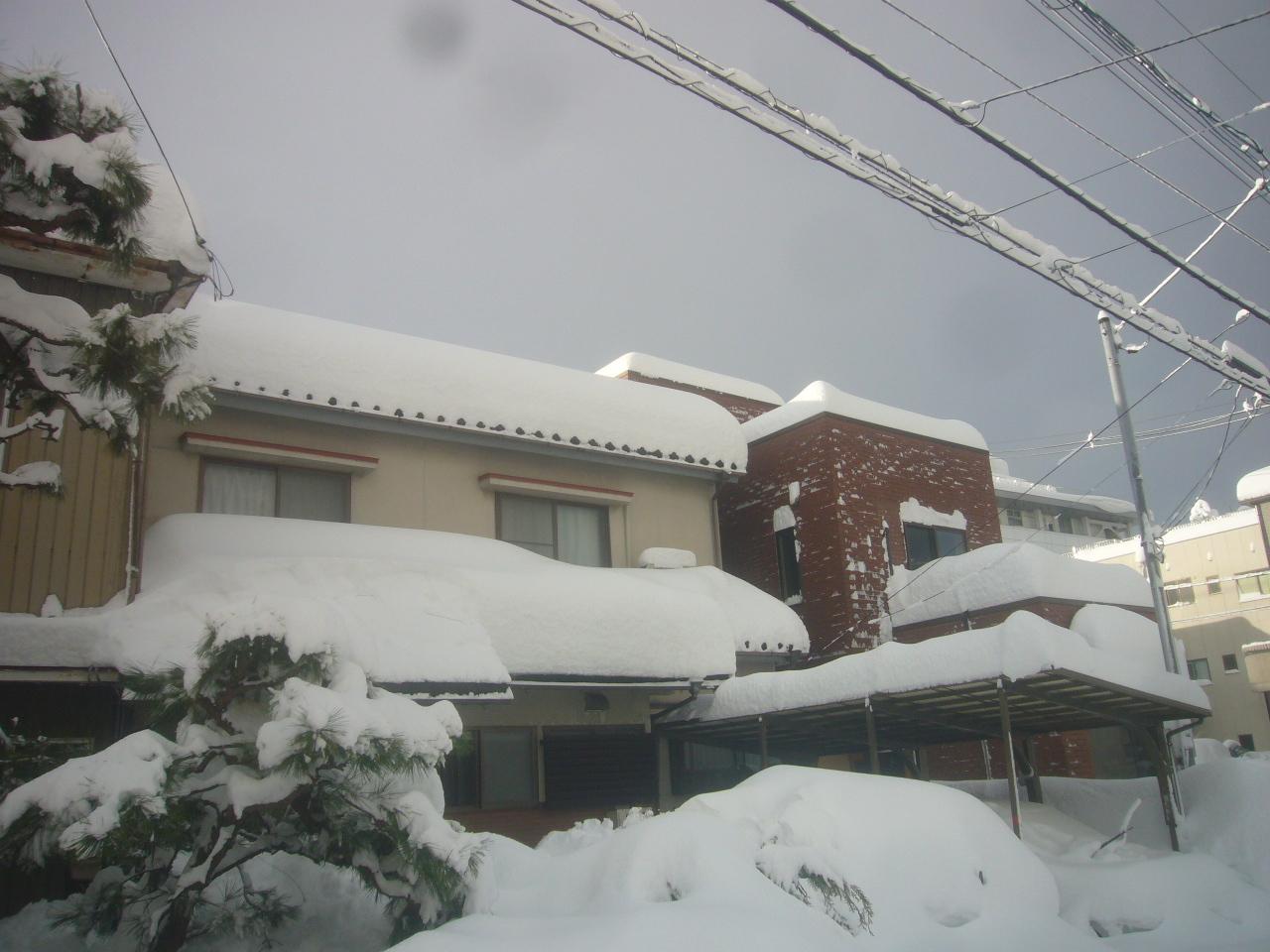 雪で埋まる R3.1.10