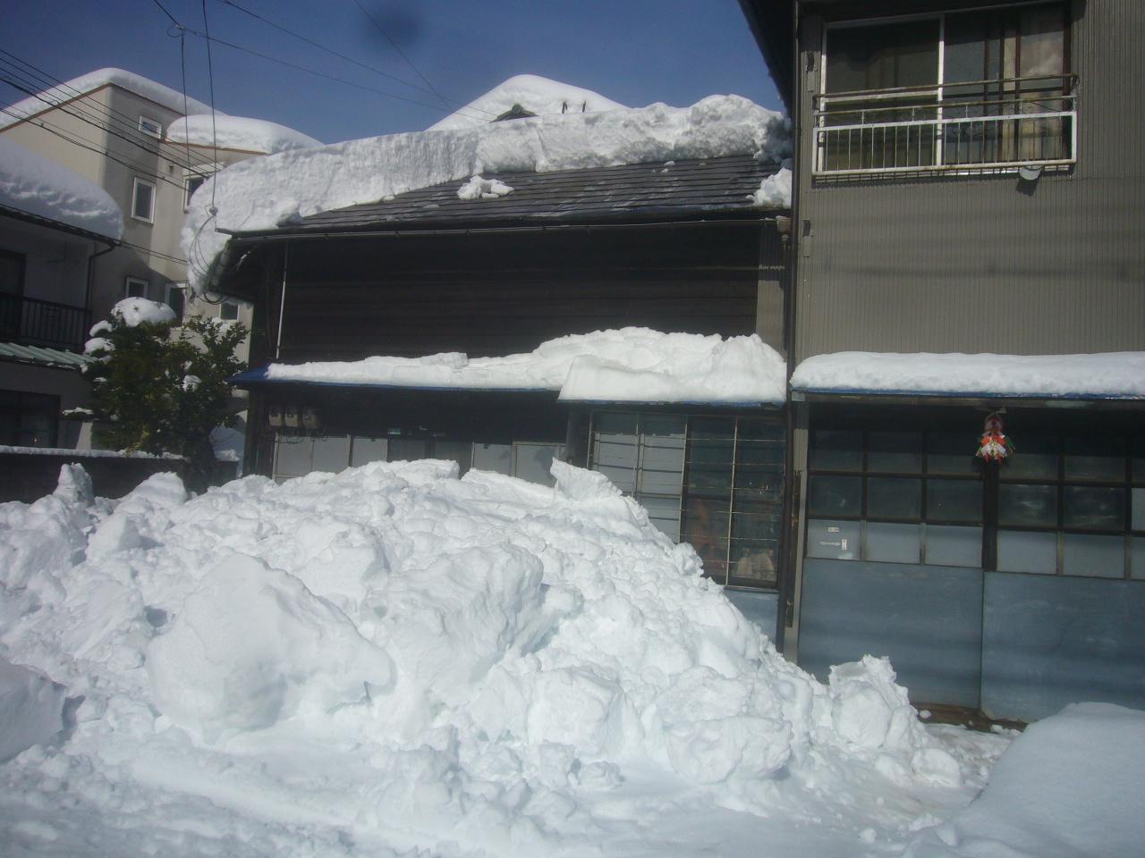 雪崩の塊 R3.1.11