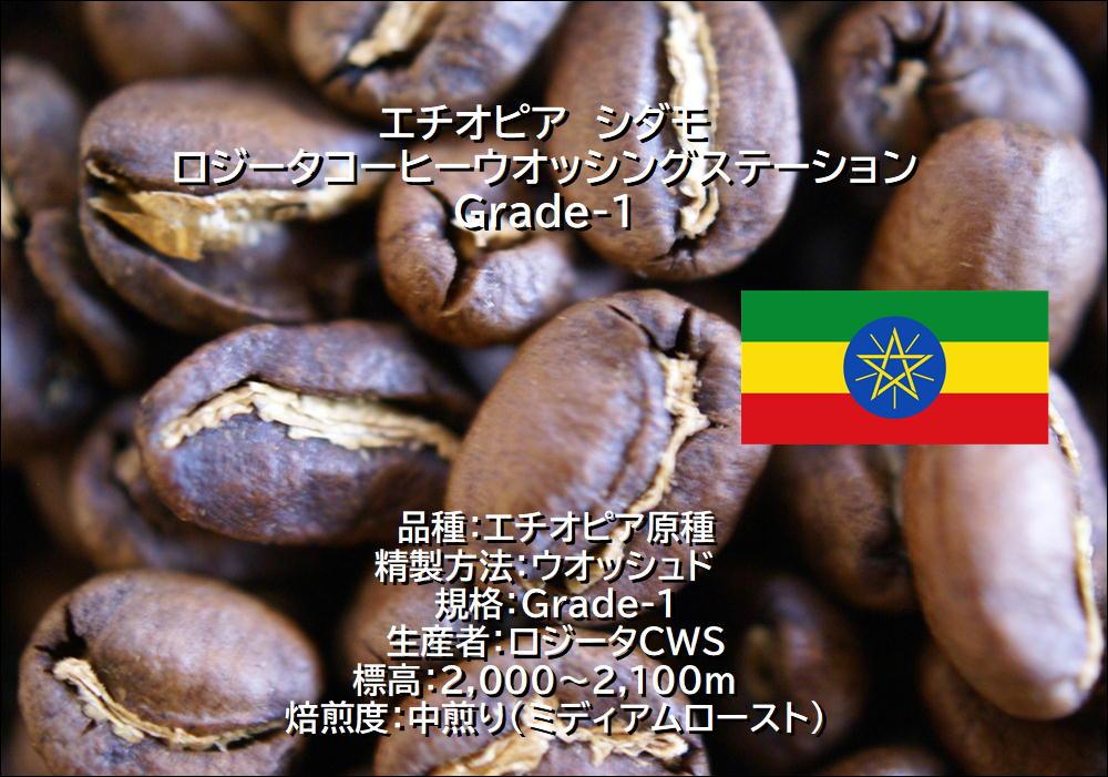 エチオピア ロジータG1 煎豆