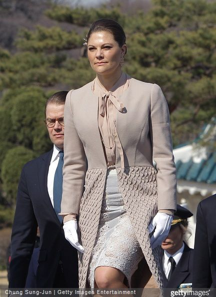 Crown Princess Victoria and Prince Daniel visits South Korea - Day 2 (1)