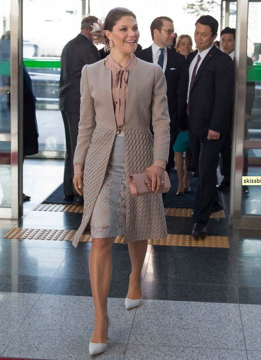 Crown Princess Victoria and Prince Daniel visits South Korea - Day 2 (5)