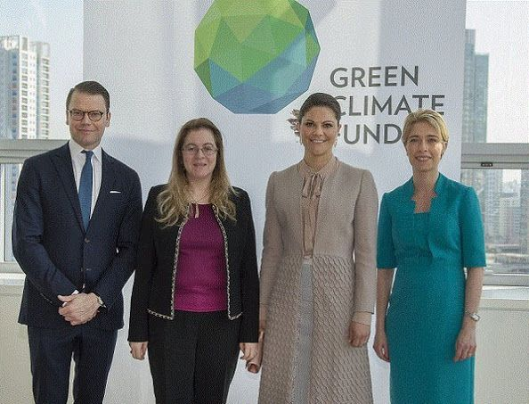 Crown Princess Victoria and Prince Daniel visits South Korea - Day 2 (6)