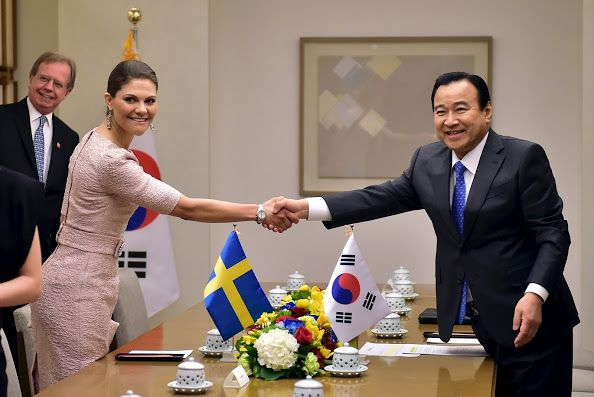 Crown Princess Victoria and Prince Daniel visits South Korea - Day 2