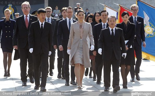 Crown Princess Victoria and Prince Daniel visits South Korea - Day 2 (13)