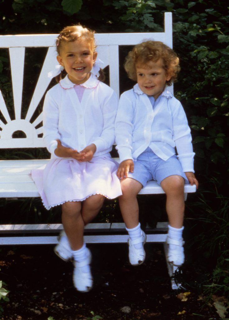10 härliga bilder från när Victoria var fem!
