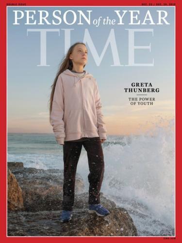 トゥーンベリさん、米誌タイムの「今年の人」に選出 最年少記録 - BBCニュース