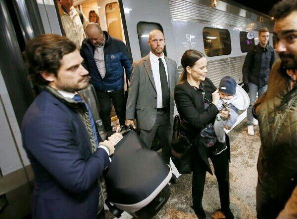 Swedish Princess Sofia visited Fritidsbanken in Varmland (3)