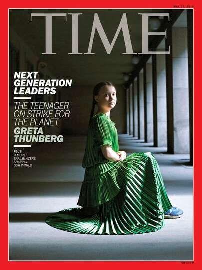 Greta Thunberg på omslaget till Time Magazine - DN_SE