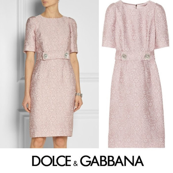 dolce-gabbana-Pink-Belted-Jacquard-Dress.jpg