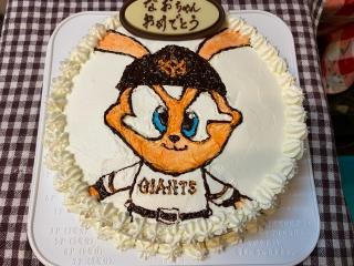 ラビット君ケーキ