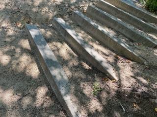 木漏れ日階段とんとん