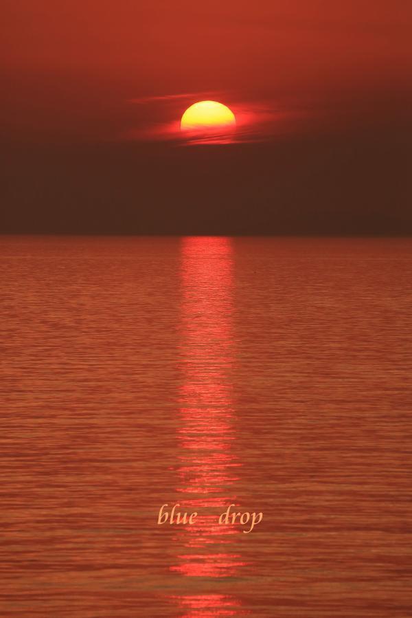 赤い日暮れ