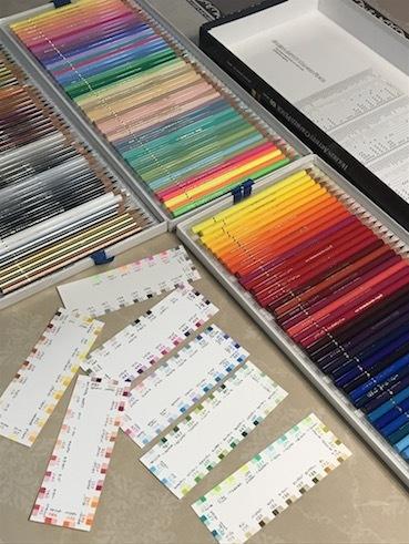 200307色鉛筆とカラーチャート