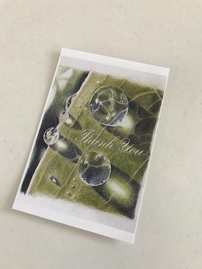 200505色鉛筆画水滴カード