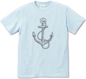 デザインTシャツ いかり(Anchor)