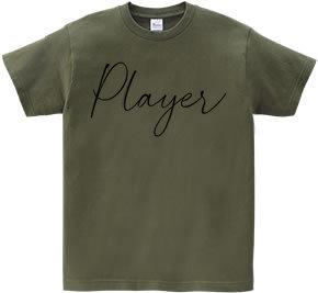 デザインTシャツ プレイヤー(Player)