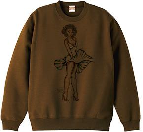 幸運の金髪女神 デザインTシャツ & スエット