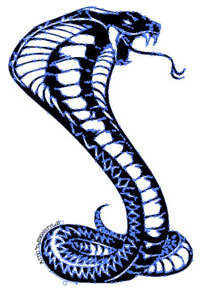 コブラ(Cobra) デザインTシャツ