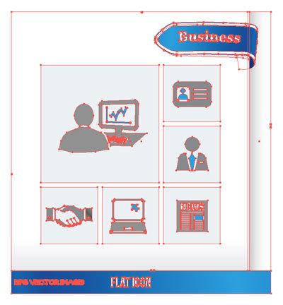 ロゴ フラットアイコン ビジネス