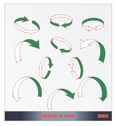 イラスト 図解矢印