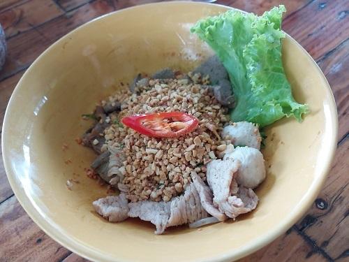 Tom Yum Dry noodle