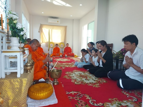 Nengs blessing new house ceremony (1)