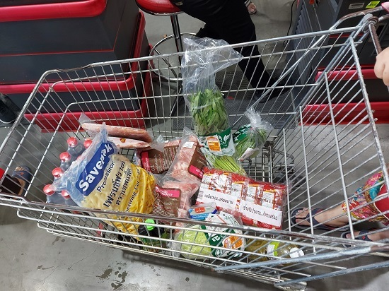 the cart that we bought