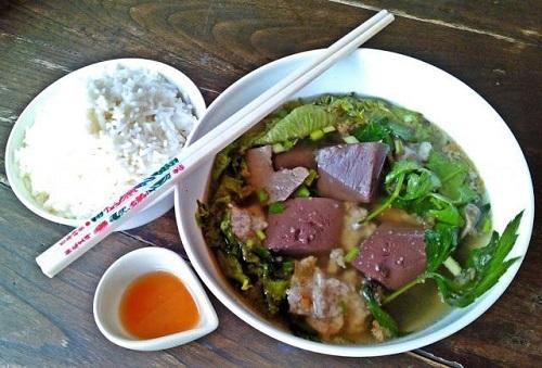 pork blood jelly soup (2)