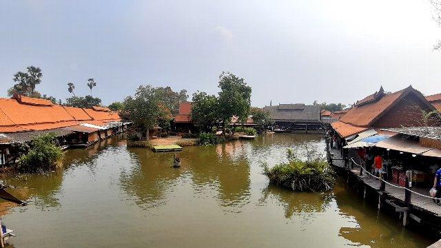 Ayothaya floating market (8)