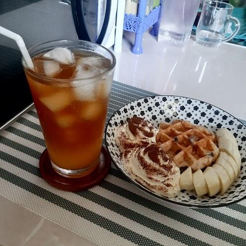Orange coffee on holiday (1)