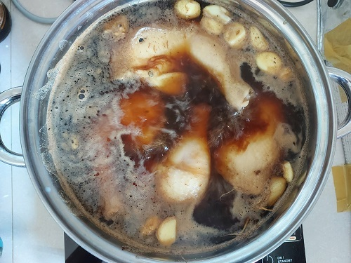 boiled chiken with fish sauce (7)