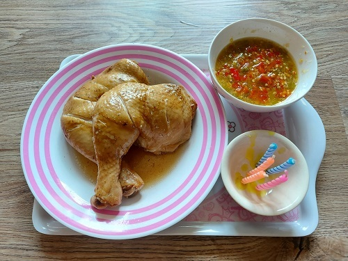 boiled chiken with fish sauce (9)