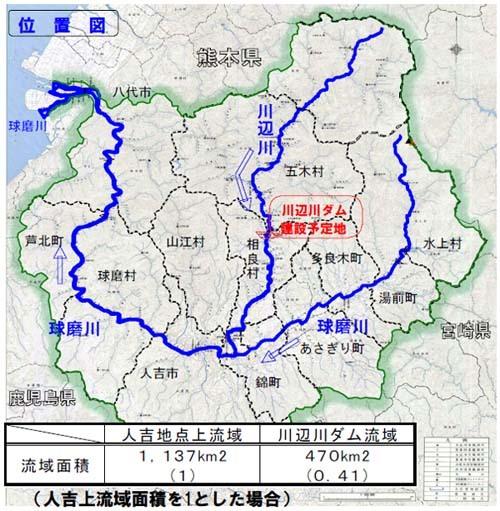 ダム位置図
