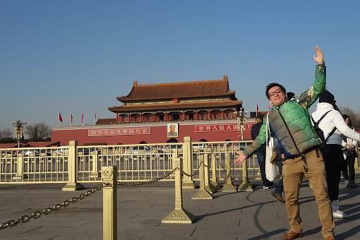 北京にやってきました