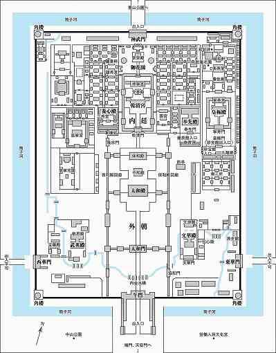 故宮map