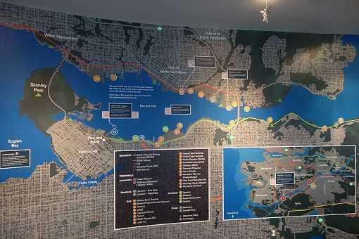 展望台地図