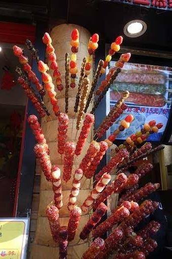 糖葫蘆たくさん