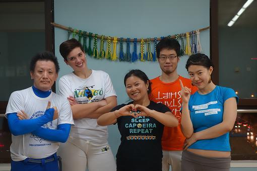 北京巴西战舞曼丁加 谢谢!
