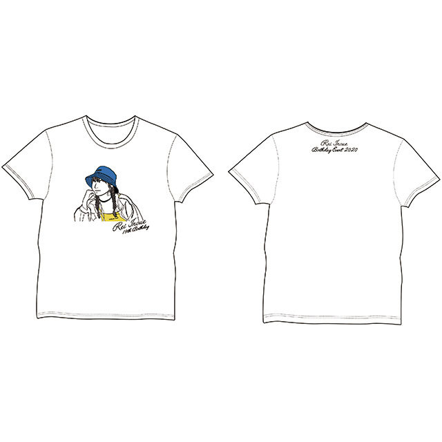 井上玲音バースデーイベント2020グッズ01 Tシャツ