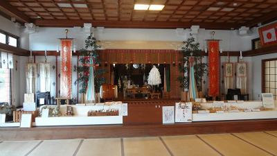 s淡島神社本殿内部