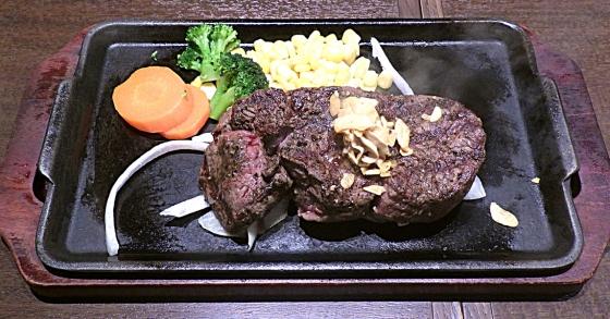いきなり!ステーキ 大阪羽曳野店 ヒレステーキ 280g