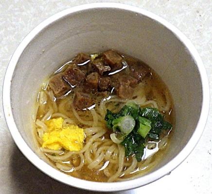 3/30発売 人類みな麺類 めちゃうま貝だし醤油らーめん(できあがり)