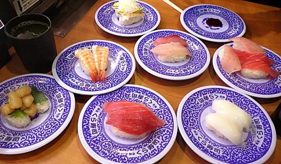 くら寿司(たういさんとの食事:2020年10月27日撮影)